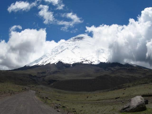 Cotopaxi from the Road in