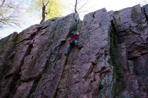 Lead Climbing - Palisades