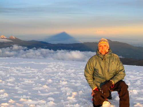 Dan on summit