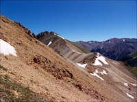 Whitecross Mountain's ridge