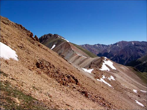 Whitecross Mountain\'s ridge