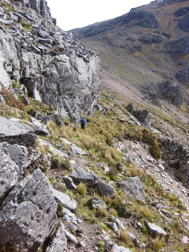 The slopes of Sincholagua