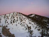 Morning Glow of Charlton Peaks