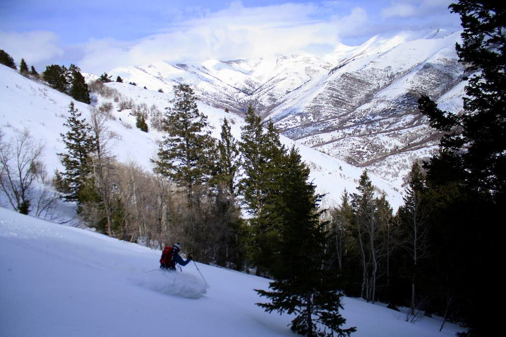 Skiing Porphyry Hill