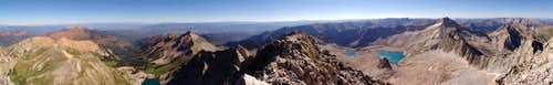 Capitol Peak 360 Degree Panoramic