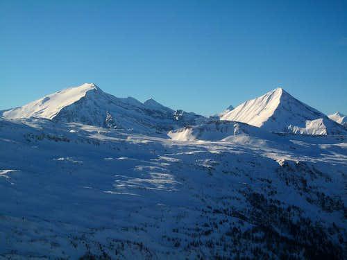 Hocharn (3254m) and Ritterkopf (3077m) in the Goldberg group...