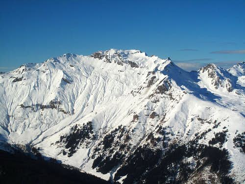 Türchlwand (2577m) in the lower Goldberg group