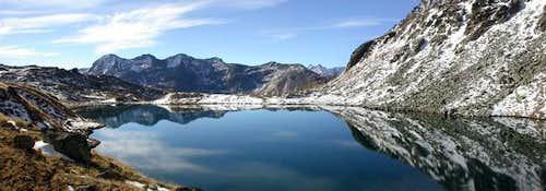 prima neve al lago Lussert...