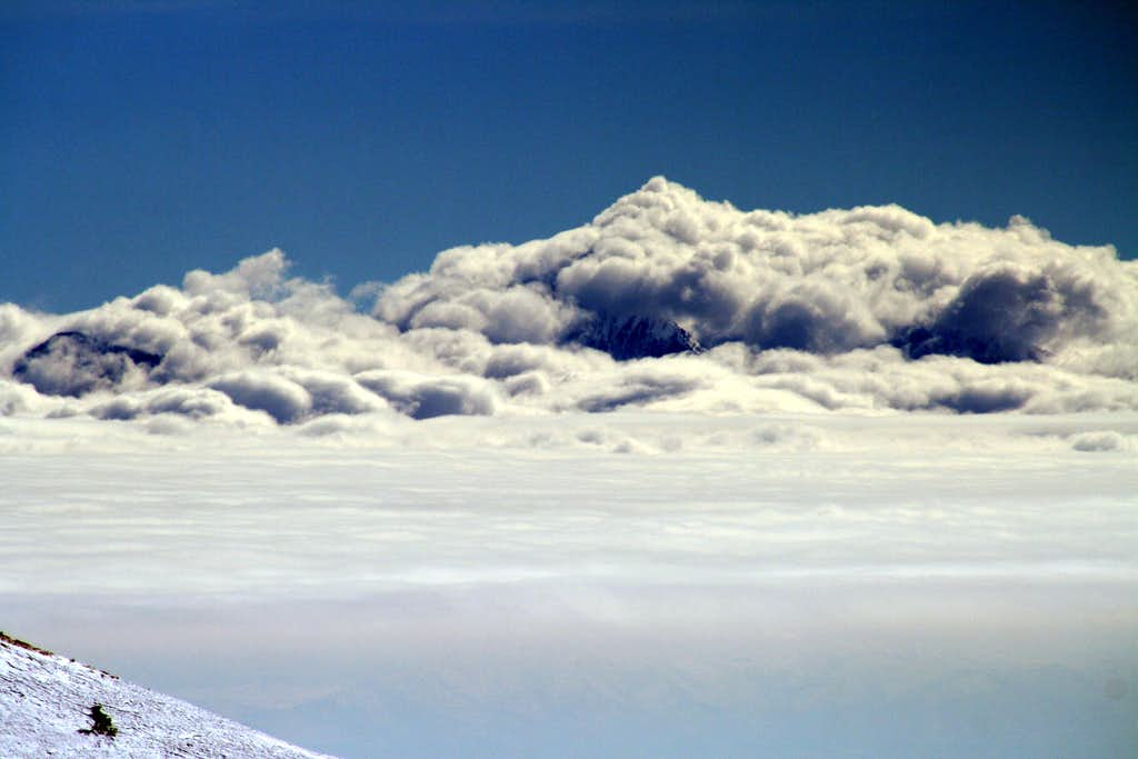 Mount Nebo Covered in a Sea of Clouds