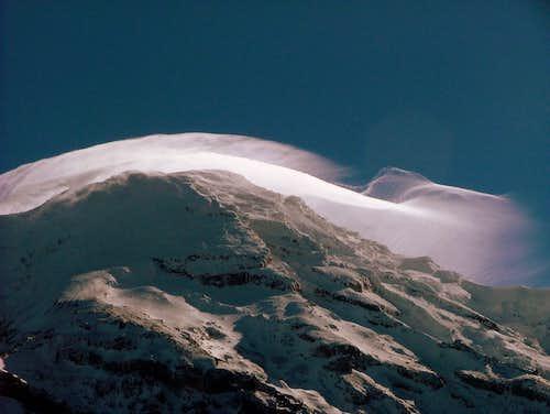 Cloud on Chimborazo.