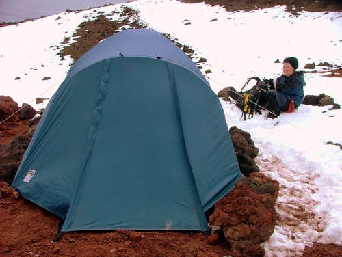 Camping in Cotopaxi.