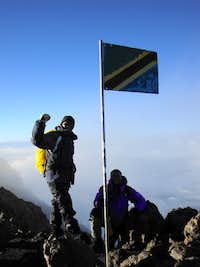 Guides on Meru Summit