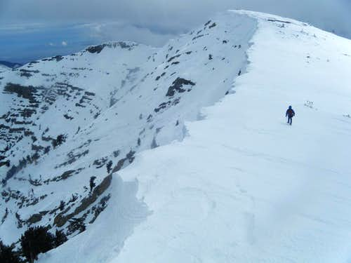Charleston Peak Snowshoeing