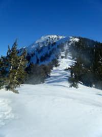 Griffith Peak Snowshoeing