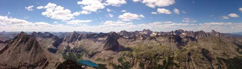 Grenadier and Needle range Panoramic