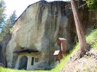Chapel in the rock II (outside)