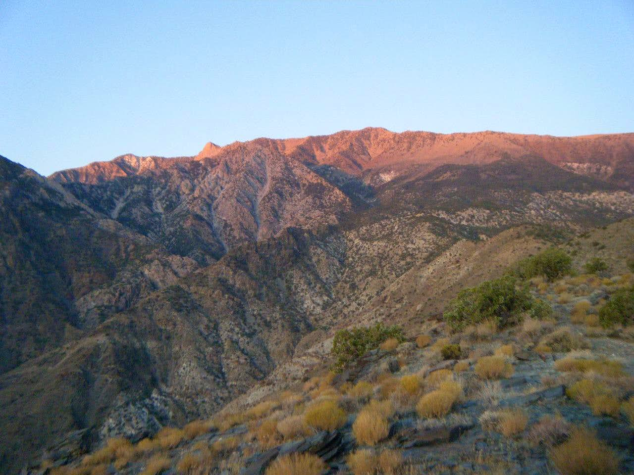 Shorty\'s Well To Telescope Peak