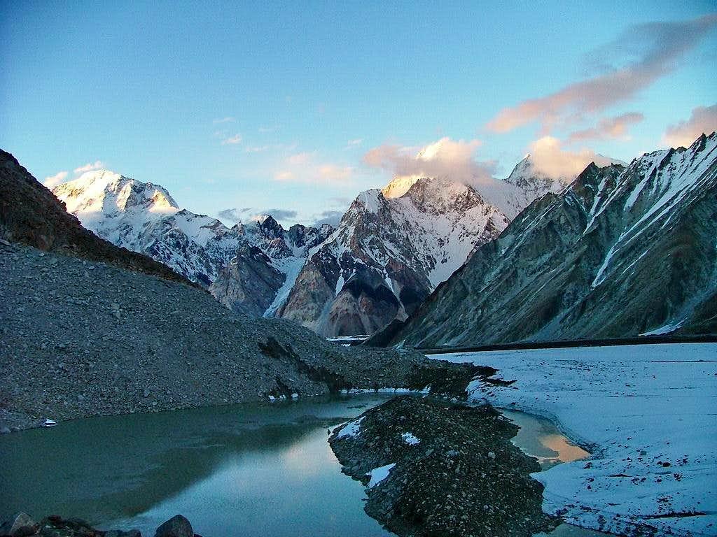 Broad Peak & Gasherbrum-IV, Karakoram, Pakistan