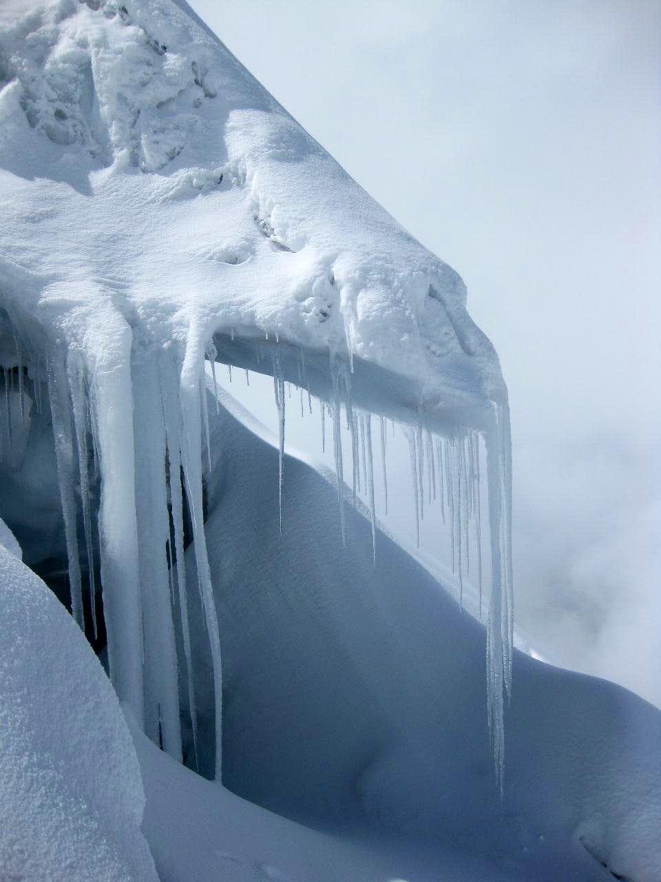 Cotopaxi glacier edge