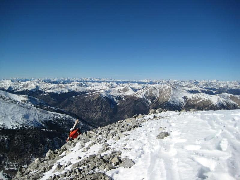 14er Ski Season Begins: Mount Antero Ski Descent