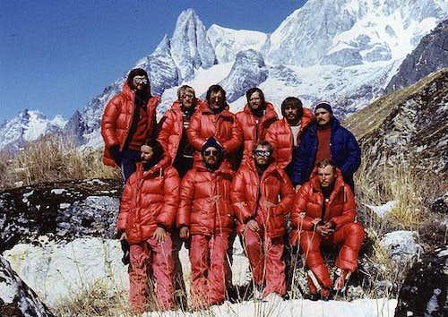 Manaslu first winter ascent - team