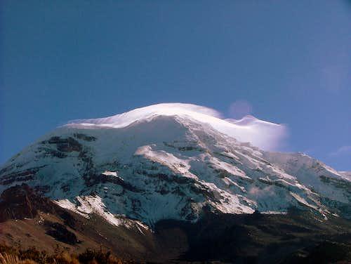 Chimborazo southwest face.