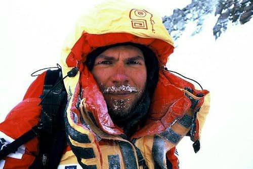 Piotr Morawski at K2