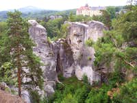 The Hruboskalsko Rock Town