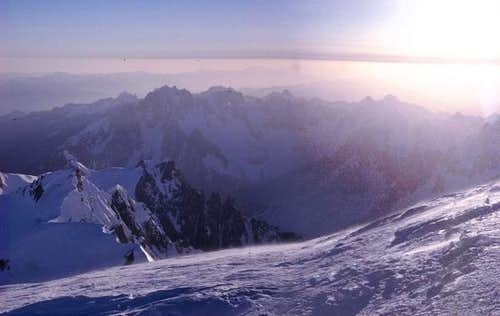 Finaly at the top summit of...