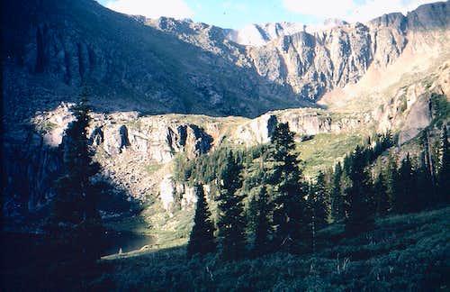 Mount Evans and Bierstadt