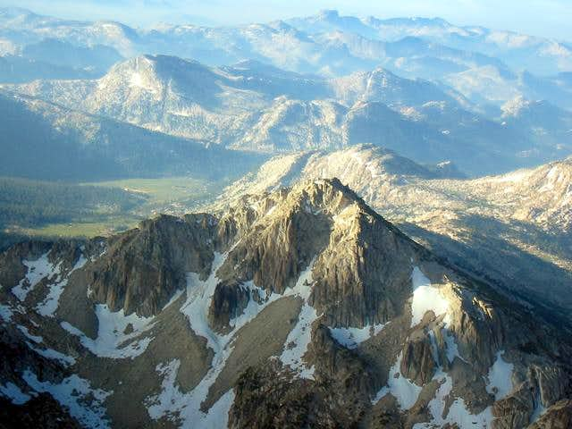 Center Mountain from the...