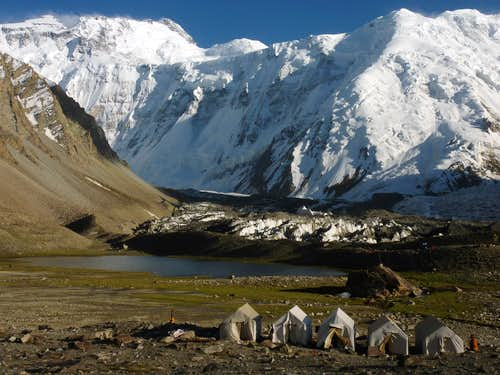 Moskvina Base Camp - 4300 m