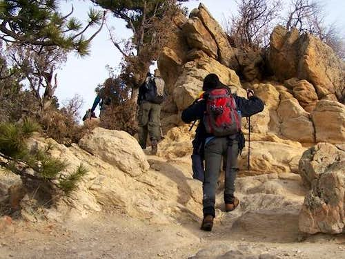 Sandstone Hiking