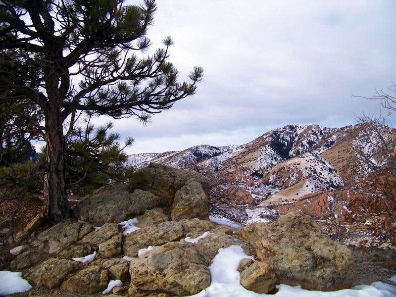 SW from Dinosaur Ridge