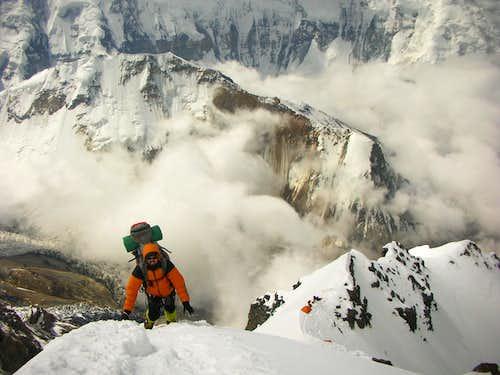 On the Korjenevskaya ridge