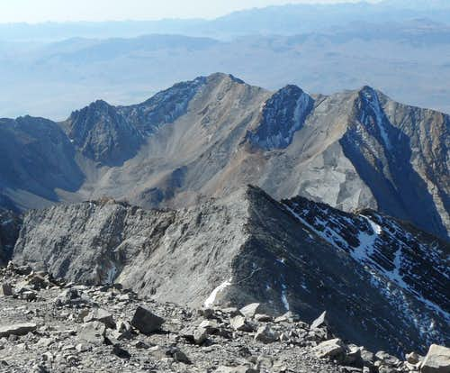 Mt. Morrison from Borah Peak