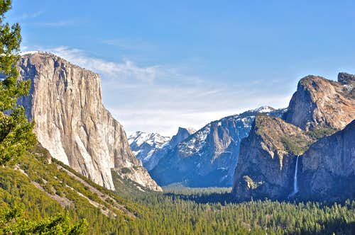 Yosemite Valley seen from...
