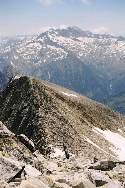 Perdiguero's ridge. July...