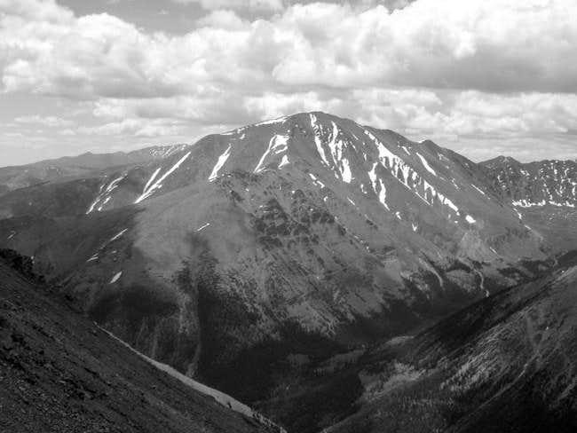 7/5/04: Mount Elbert, as seen...