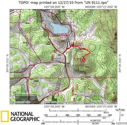 Route Map Photos Diagrams Topos SummitPost