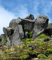 Rocks on Imbabura