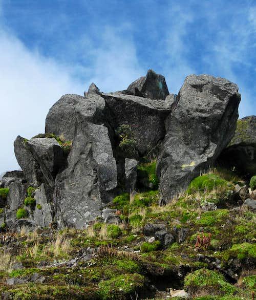 Rocks on Imbabura