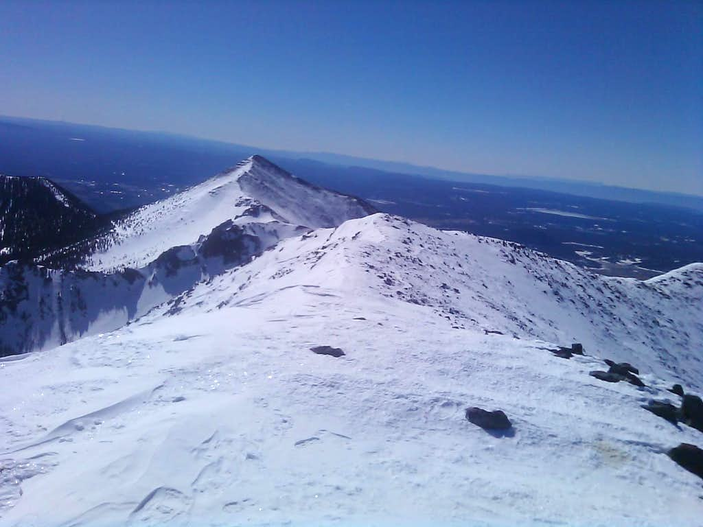 Arizona Humphreys Peak
