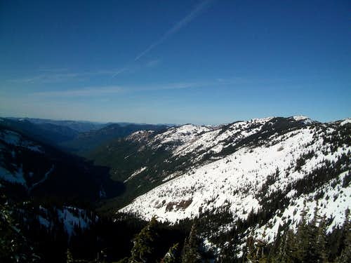From the summit of Bullion Peak
