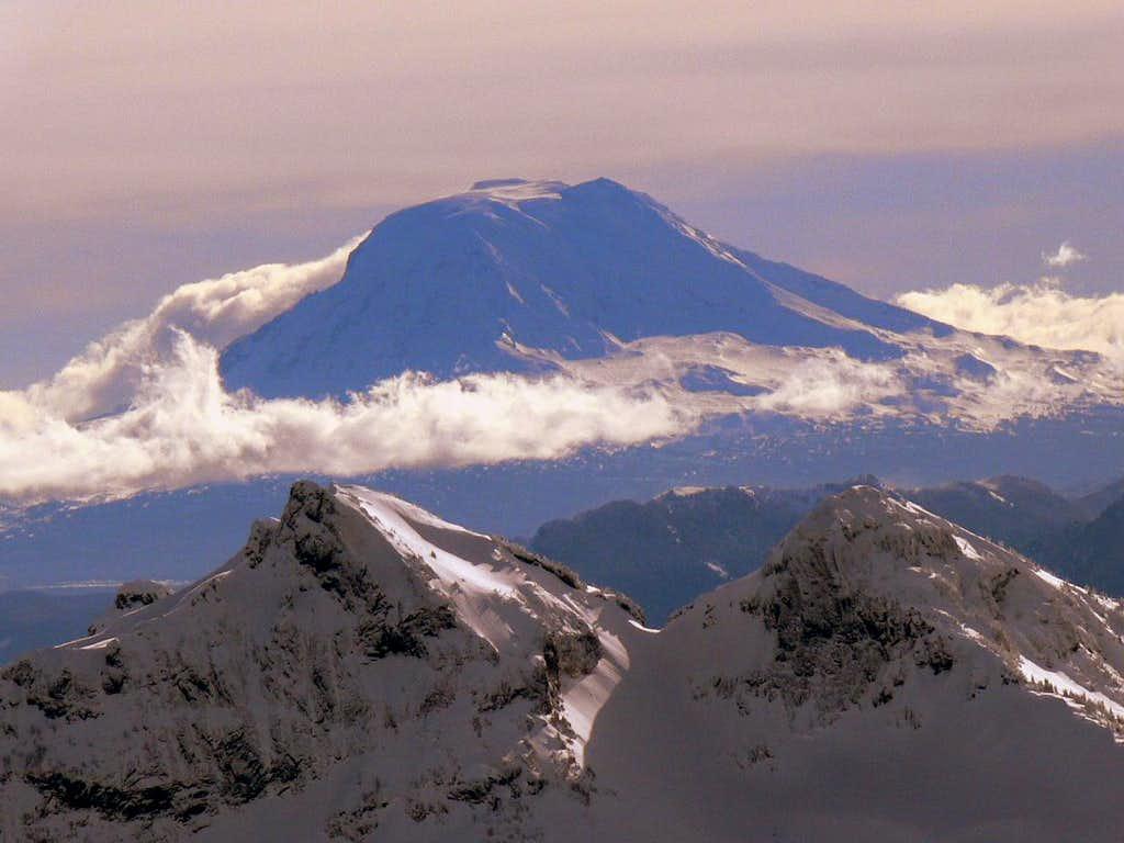 Mount Adams in Winter