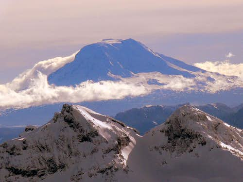 Mount Adams in Winter