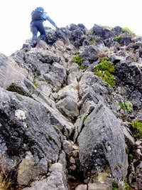 Scrambling on Imbabura