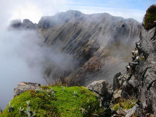 The Imbabura ridge