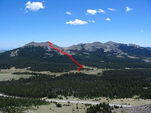 Bighorn Range Southern Peaks