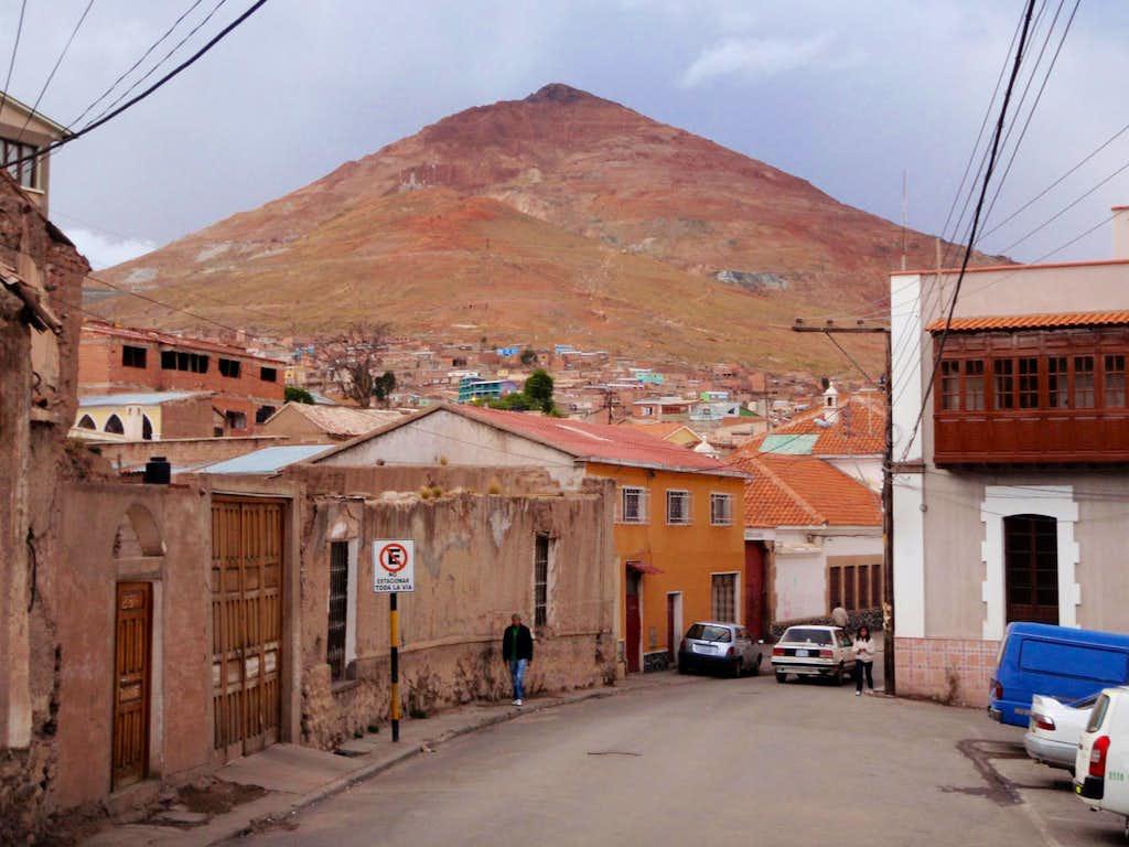 Cerro Rico From Potosi